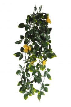 Yellow Mixed Hanging Foliage UV Resistant 60cm