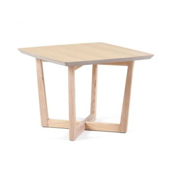 Muto Lamp Side Table - Natural