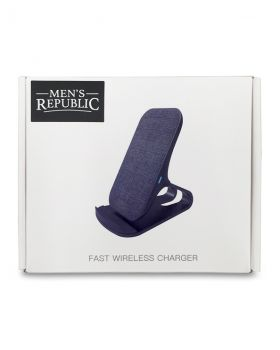 Men's Republic Wireless Standing Phone Charger with Fabric