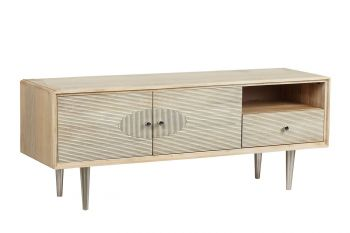 Special 30% Discount Electrowave 60S Hand Crafted Hardwood Entertainment Unit