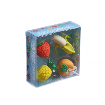 Scented Fruit Erasers