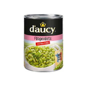 Daucy Extra Fine Flageolets Beans 530g
