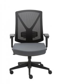 Miro Mesh Ergonomic Back office Chair - Black/Grey