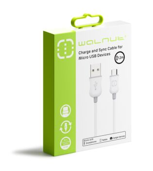 Micro USB Cable White/Grey