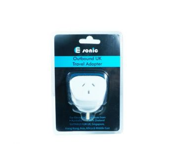 OUTBOUND UK TRAVEL ADAPTER