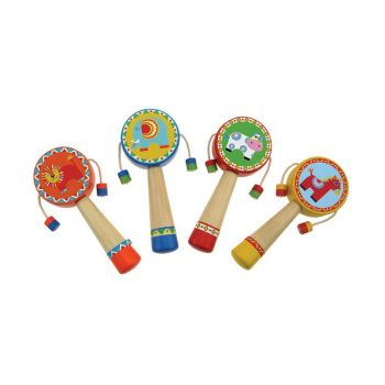 Animal Monkey Drum 4pcs/Set