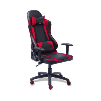 Levede Executive PU Leather Recliner Gaming Office Chair in Red