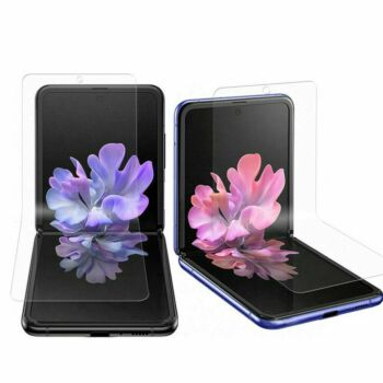 For Samsung Galaxy Z Flip HYDROGEL 3in1 FLEXIBLE Crystal Front Screen Protector