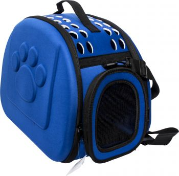 Dog Carrier Ventilated with Embossed Paw Print