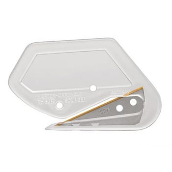 Martor Secumax Cardycut Clear Compact Film and Paper Safety Knife #5469