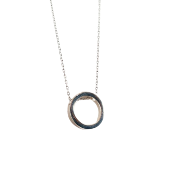 Madella Silver Eternity Necklace