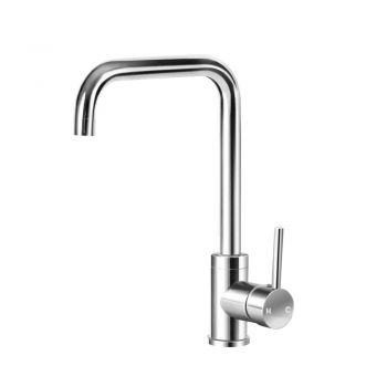 Cefito Mixer Faucet Taps Kitchen Tap Brass Sink Basin Shower Swivel WELS Silver