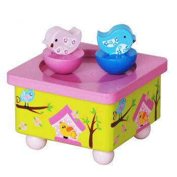 Twin Bird Music Box