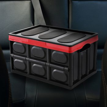 Car Boot Organiser Trunk Organizer Collapsible Foldable Storage Shopping Tidy