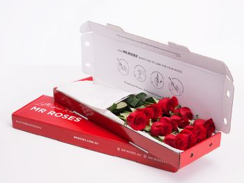Classic 12 Red Roses With Gift Box