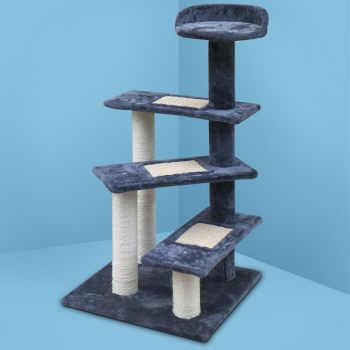 i.Pet Cat Tree Trees Scratching Post Scratcher Tower Condo House Furniture Wood 100cm