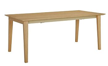 MANTON Dining Table Extendable - 180cm - Natural