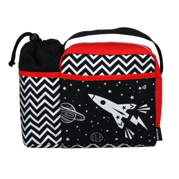 Space king lunch bag