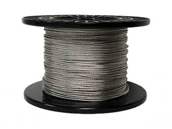 1.2mm Clear Coated 7x7 G304 Stainless Steel Wire Rope