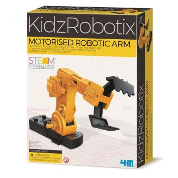 4M - KidzRobotix - Motorised Robotic Arm