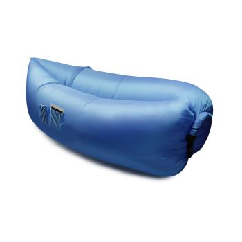 Inflatable Swimming Pool Air Bag Sofa in Blue Colour