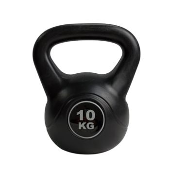1x 10KG Kettlebell Kettle Bell Weight Exercise Energetics Home Gym Workout