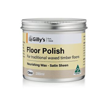 Floor Polish Clear 1L