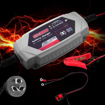 Car Smart Battery Charger 2A 12V 6V CT2000 Automatic SLA AGM Car Truck Boat Motorcycle Caravan