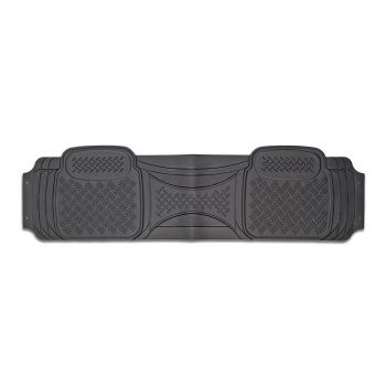 Velocity 1-Piece Car Mat - Grey [Rubber]