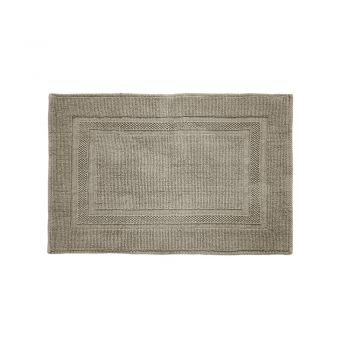 Cotton Deluxe Bath Mat Mocha