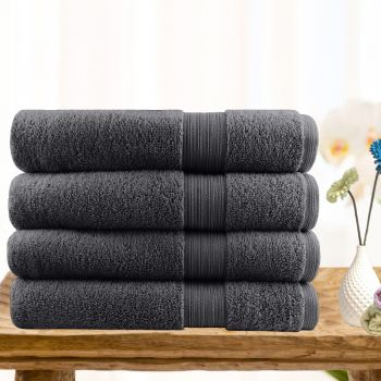 4 Piece Ultra-light Cotton Bath Towels