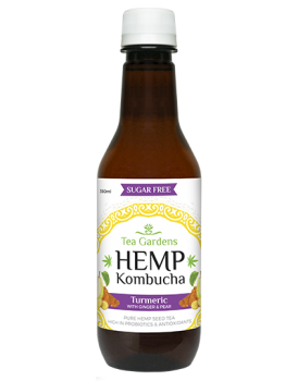 Hemp Kombucha Turmeric Ginger Pear [48 bottles] - 350ml