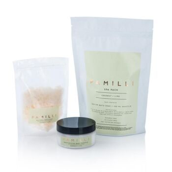 Pamilli Spa Pack  - Coconut & Lime