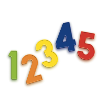 Quercetti | Magnetic Numbers | Fridge Magnets