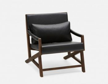 Carmello Accent Lounge Arm Chair - Black