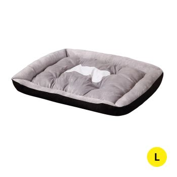 PaWz Pet Bed Bedding Cushion Soft Pad Large in Black