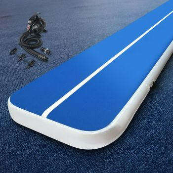 Everfit 8M Airtrack Inflatable Air Track Tumbling Mat Pump Home Gym Gymnastics