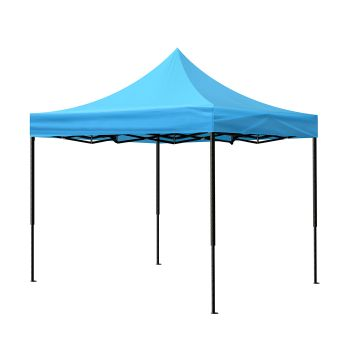 3 x 3 Mountview Marquee Gazebo Side Wall Canopy in Blue Colour