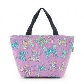Eco Chic Lilac Butterfly Lunch Bag