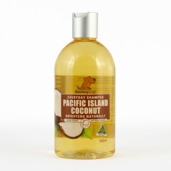 Smiley Dog Natural Pacific Island Coconut Shampoo 500ml