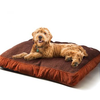 PaWz Pet Washable Soft Warm Mattress Bed Cushion Medium Brown
