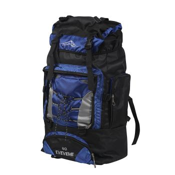 Military Travel Camping Backpack 80L in Blue Colour