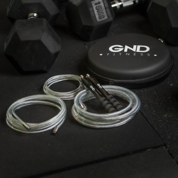 GND Weighted Skipping Rope // Charcoal