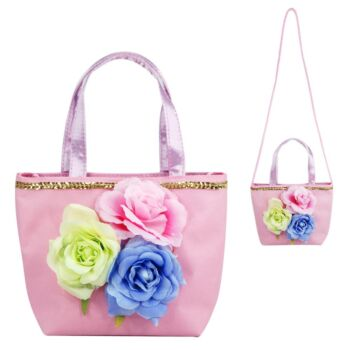 Into The Woods Flower Handbag-Pale Pink - Pack Size 2