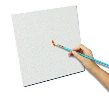 5x Blank Artist Stretched Canvas Canvases Art White Oil Acrylic Wood 40x50cm