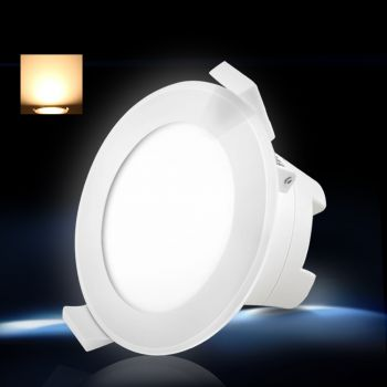 Lumey 6 x LED Downlight Kit 90mm Dimmable 12W Ceiling Light Globe