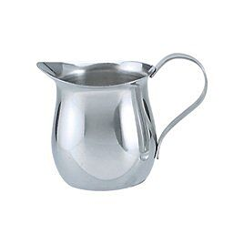Creamer- Stainless Steel Bell Shape 140ml
