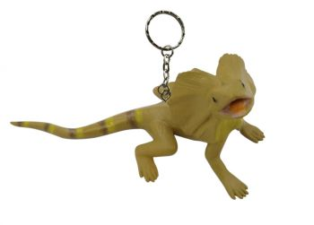 Frilled lizard keychain (pack of 6)