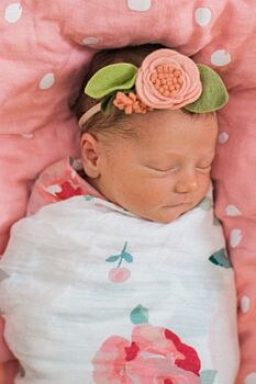 Rosy + Dewdrops Oh-So-Soft Swaddle Blankets
