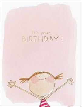 Foil Card-It's your Birthday